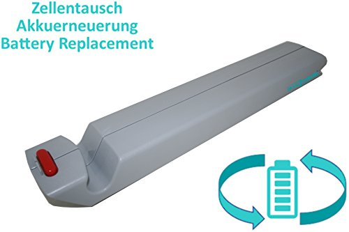 Zellentausch/Reparatur Akku für Badewannenlifter ARJO Alenti / Bolero / Calypso / Maxi Move / Marisa / Miranti / Minstrel / Sara 3000 / Walker Hebe- u. Transferhilfen