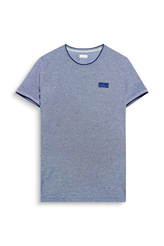 ESPRIT Herren T-Shirt Blau (Navy 400)