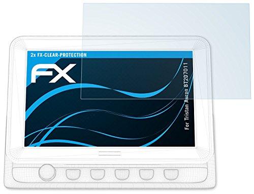 atFoliX Schutzfolie kompatibel mit Tristan Auron BT2D7011 Folie, ultraklare FX Displayschutzfolie (2X)