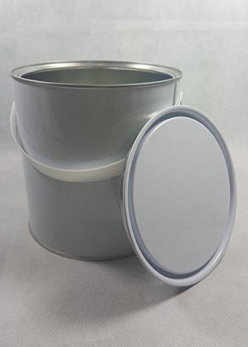 5-five-x-25-litre-empty-new-lever-paint-tin-metal-paints-varnish-tins
