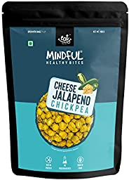 EAT Anytime Mindful Cheese & Jalepeno Pepper Roasted Chickpeas Chana, Healthier Vegan & Gluten Free Sn