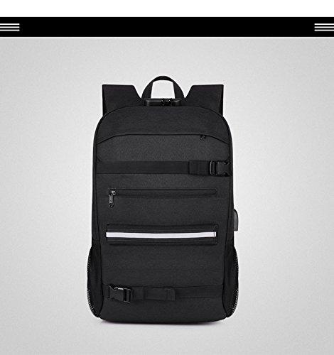 Outdoor-Schultertasche Herren Business Wasserdichte Tasche Oxford Klappreisetasche BackpackGAOXP (Farbe : 1)
