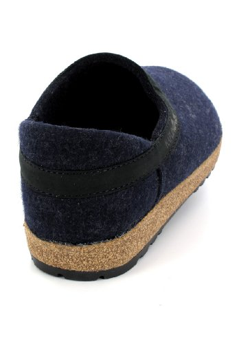 Haflinger Pantofole kapitän Bufala Donna 79 Bassi Blu Grizzly gxwgqBrHv