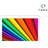 I KALL N10 Dual Sim 4G Calling Tablet With 10.1 Inch Display - (White-Gold, 1GB + 8GB)