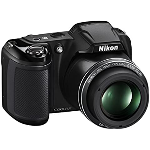 Nikon Coolpix L340 Fotocamera Digitale Compatta, 20 Megapixel, Zoom 28X,