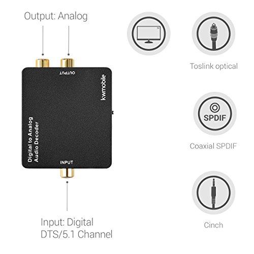 Zoom IMG-3 kwmobile convertitore audio da digitale