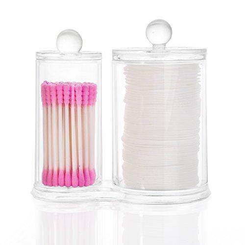 Es una multifuncional y práctica caja acrílica transparente para ordenar los maquillajes y joyerías : lápices de ojos, labiales,cepillo del maquillaje ,pintauñas ,barras de labios,perlas .pinceles sombras de ojos, rímel,esmalte de uñas, gomas para el...