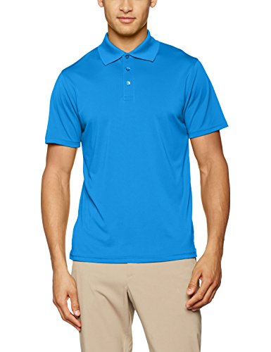 James & Nicholson Herren Poloshirt Men´s Polo High Performance Blau (Azur)
