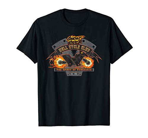 Marvel Ghost Rider Hell Cycle Club T-Shirt