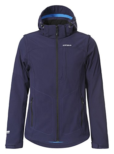 ICEPEAK Herren Softshell Jacket Leonidas Ultramarine