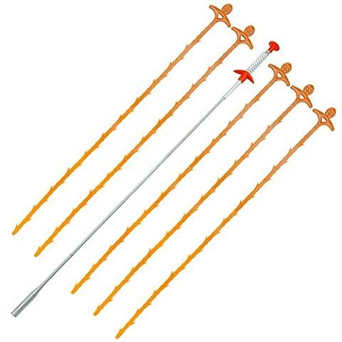 ofoen Abflussreinigung Tool Kit, Ablauf Verstopfen Entferner mit Ablauf Schlange Reinigung Werkzeug (Ablauf Relief Werkzeug) verschiedene Farben