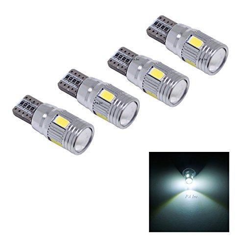 PA 4 x 6 LED SMD T10 921 T15 194 extrêmement lumineux 5730 Chipset ampoules LED Auto Side Marker lumière/feu arrière/Turn Signal Light/conduite Light/License Plate ampoules - Blanc