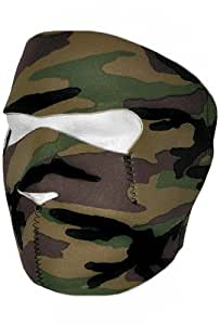 "Cagoule Masque Protection Neoprene ""Camouflage"" - Taille unique réglable - Airsoft - Paintball - Outdoor - Ski - Snow - Surf - Moto - Biker - Quad"