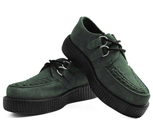 Tuk Plante Grimpante Chaussures Musk Suede Low Green Viva