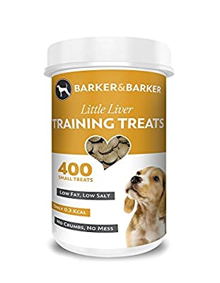 Barker and Barker Dog Training Treats - Little Liver Treats