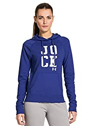 Under Armour Women's Ua Pretty Gritty Jock Hoodie (X-small, Siberian Iriswhite) By Under Armour