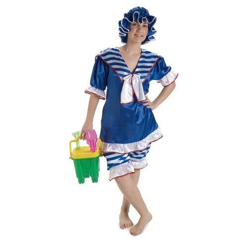 Imagen de disfraz bañista años 20 mujer. talla 42/44.
