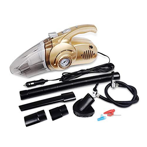 Tragbare 4 in 1 Auto Dual Use Staubsauger Hand Auto Auto Aufblasbare Pumpe Luftkompressor Hohe Leistung mit Digitalanzeige