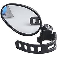 HuntGold 1 × Universell Radfahren Fahrrad Mountainbike Lenker Rückspiegel 360 Grad drehen (Schwarz)