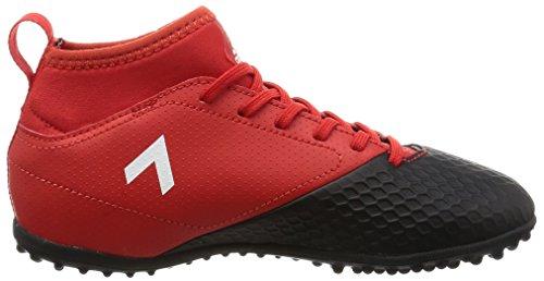 adidas Jungen Ace 17.3 Tf J Fußballschuhe, Rouge Solaire/Argent/Rouge Vif Rot (Red/ftwr White/core Black)