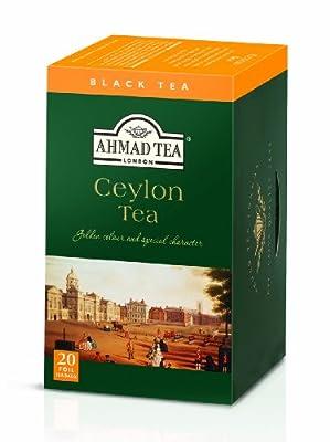 Ahmad Tea - Thé Noir Sachet Ahmad Tea - Ceylan - Thé Noir - Boitex20 sachets