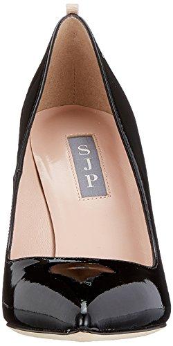 SJP by Sarah Jessica Parker Fawn, Scarpe con Tacco Donna Nero (Black Patent)