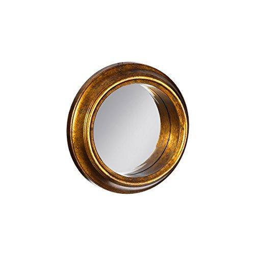 espejo de pared clsico dorado de metal para la entrada de cm vitta lola