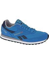 Reebok - CL Leather Clean LU Midnight Bluechalk - V69679 - Color: Azul-Blanco - Size: 42.0 H7ND6RIj