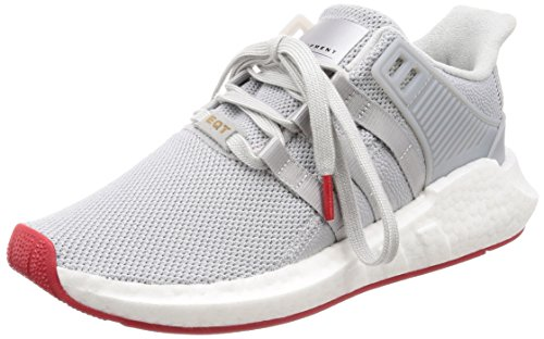 adidas Herren EQT Support 93/17 Gymnastikschuhe Grau Matte Silver/FTWR White, 43 1/3 EU