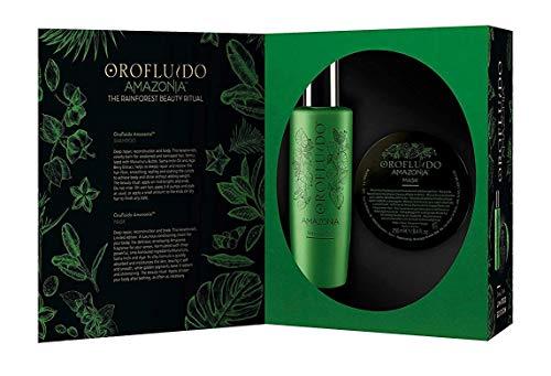 Orofluido Amazonia - Coffret Edition Spéciale Masque 250 ml + Shampooing 200 ml