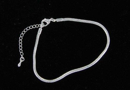 European italian snake chain bracelet 8 1/2