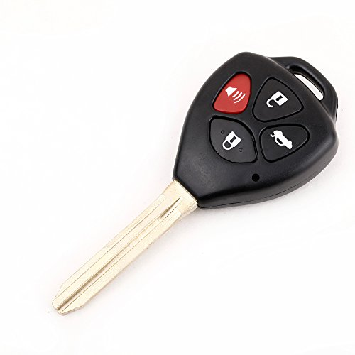 quickcortm4-button-remote-uncut-blade-flip-fob-car-key-shell-case-with-screwdriver-for-toyota-avalon