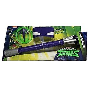 Giochi Preziosi Teenage Mutant Ninja Turtles TUAB42 Juego de rol - Juegos de rol (Superheroes, Estuche de Juego, 4 año(s), Niño, Niño, Gris, Violeta)