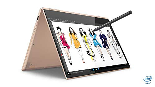 Lenovo Yoga 730 33,78 cm (13,3 Zoll Full HD IPS matt) Slim Convertible Notebook (Intel Core i5-8265U, 8 GB RAM, 256 GB SSD, Intel UHD Grafik 620, Windows 10 Home) silber (Grafik Notebook 6x9)