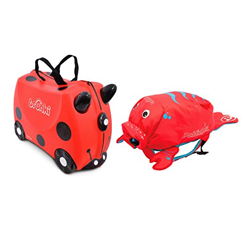 Trunki, Valigia Bambini, Red (rosso) - 0261-GB01