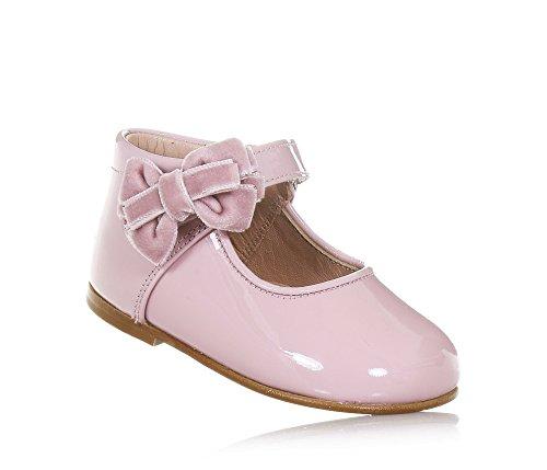 ELI ELI Rosa Schuh Aus Lackleder, Handgemacht in Spanien, Geeignet für Festliche Anlässe, Mädchen-22