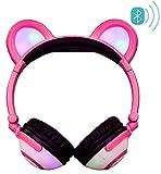 Best Casque Bluetooth sur les oreilles - LIMSON Bluetooth Casque Sur-oreille Stéréo Enfants Headphones avec Review