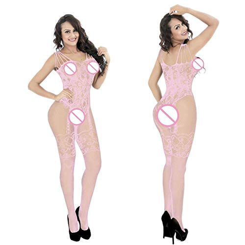 Plus Size Baby Doll Sexy DessousErotische Kostüme Sexy Porno Geöffneter Gabelung Babydoll Transparent Mesh Sex Dessous Für Frauen, ()