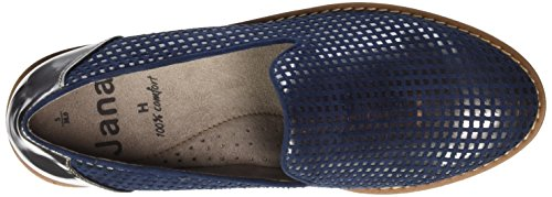 Jana Damen 24608 Slipper Blau (NAVY 805)