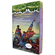 By Mary Pope Osborne ; Salvatore Murdocca ( Author ) [ Magic Tree House Volumes 21-24 Boxed Set: American History Quartet By Sep-2014 Paperback