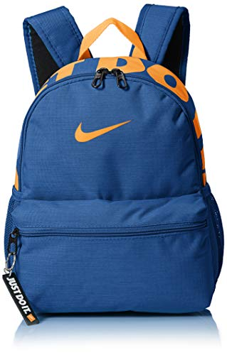 Nike Kinder Brasilia JDI Rucksack, Indigo Force/Black/Fuel orange, MISC