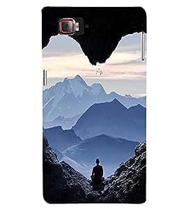 EPICCASE Keep Calm and Meditate Mobile Back Case Cover For Lenovo Vibe Z2 Pro K920 (Designer Case)