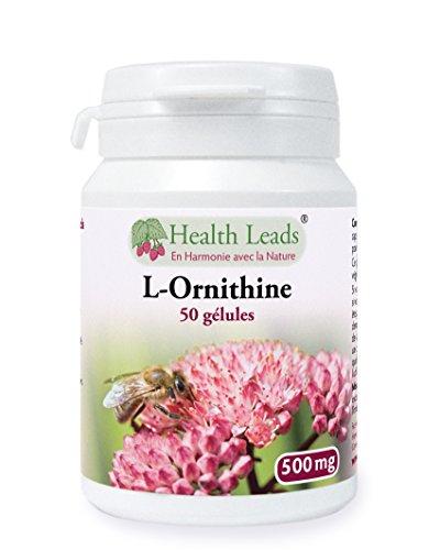 L-Ornithine, 500 mg x 50 gélules