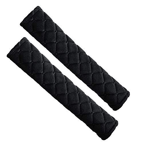 Forepin 2 Stück Gurtpolster Auto Sicherheitsgurt Bügel Gurtschutz, Auto Gurtschutz Polsterung für Sitzgurt Nackenstütze für Kinder und Erwachsene -