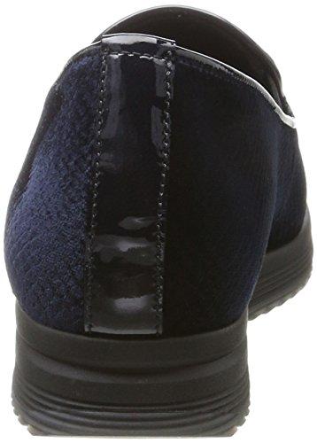 Gabor Shoes Comfort Sport, Derby Femme Bleu (86 Ocean)