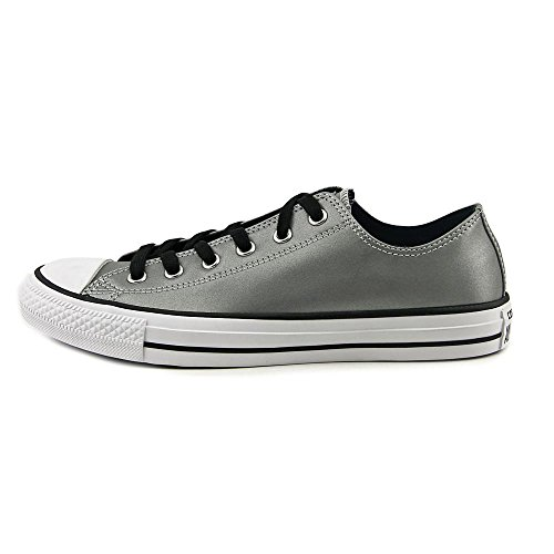 Converse Chuck Taylor All Star OX Hommes Synthétique Baskets Silver-Black-White