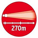 Brennenstuhl Taschenlampe LED LuxPremium / Taschenleuchte mit CREE-LED, hohe Reichweite (850 lm, 270m, umfangreiche Licht-Funktionen) Farbe: schwarz - 3
