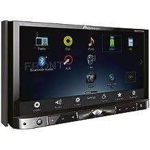 """Pioneer AVH-X8500BT - Reproductor de audio y vídeo para coche (pantalla táctil de 7"""", sintonizador VHS, RDS y MF, Bluetooth)"""