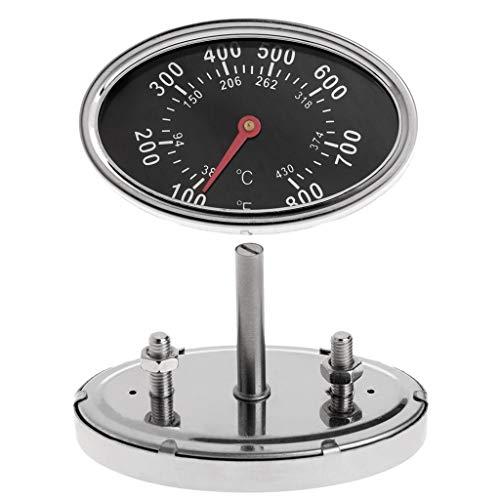 Yuaierchen termómetro para carne y barbacoa, para cocinar alimentos, barbacoa, ahumador, parrilla...