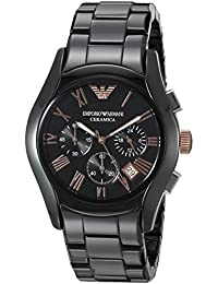Emporio Armani Valente Analog Black Dial Men s Watch - AR1410 6e93678c3f